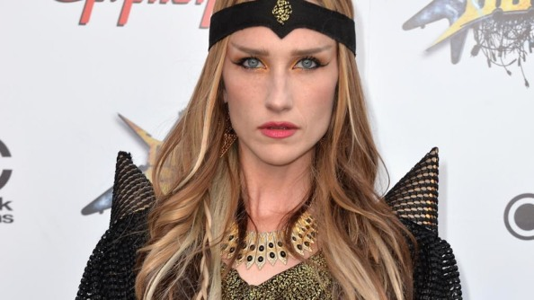 LOS ANGELES, CA - APRIL 23: Musician Jill Janus attends the 6th Annual Revolver Golden Gods Award Show at Club Nokia on April 23, 2014 in Los Angeles, California. (Photo by Frazer Harrison/Getty Images)